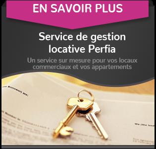 Location de local professionnel – Perfia