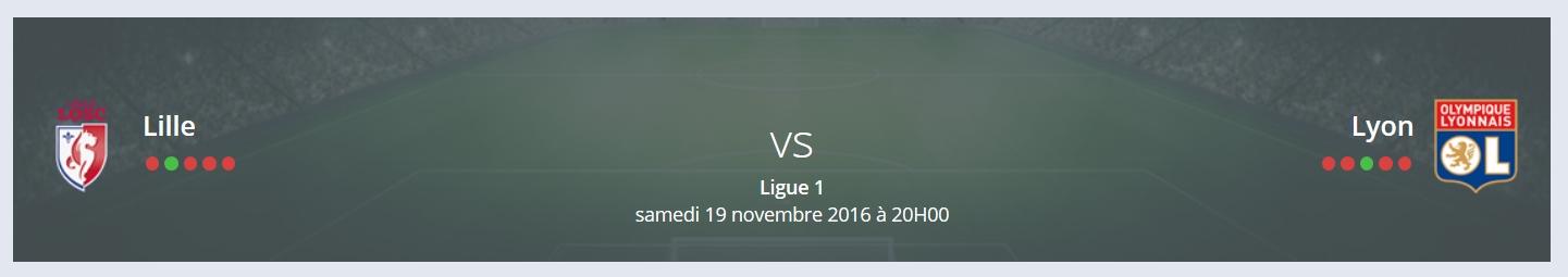 Quel Pronostic Lille Lyon Ligue 1